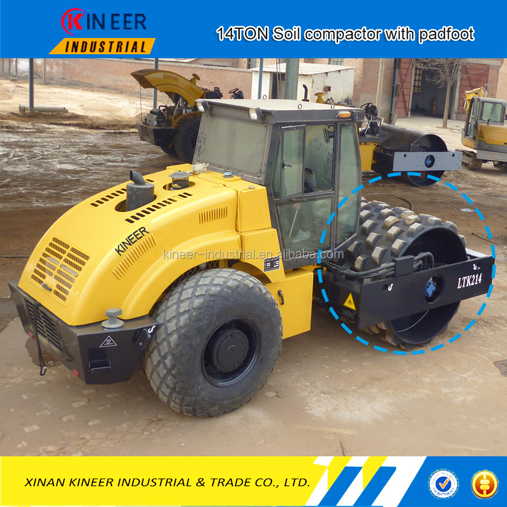 Lt214b 14ton soil compactor for sale vibrator soil for Soil for sale