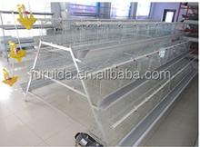 Multi-tier galvanized layer chicken cage for sale