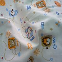 print 100% cotton interlock knit fabric for baby underwear