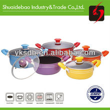 2015 customer new style cooking pot professional stainless steel cookware