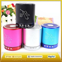 Hot sale T-2020 Beautiful Portable mini bluethooth Speaker High Quality Sound Support MP3 Format Music