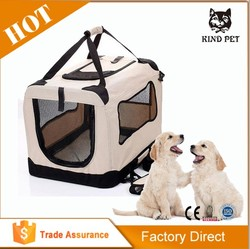 Soft Sided Travel Dog and Cat Pet Carrier