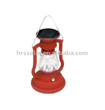 Energy saving and bright solar camping lantern