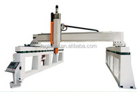 cheap 5 axis cnc machine 5 axis cnc machining center with large size rotary axis for foam wood stone carving engraving