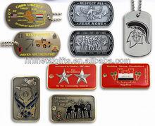 Custom cheap dog tag/metal dog tag/military dog tag