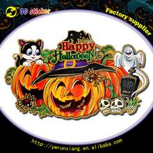 2015 Window decorative Halloween Gel sticker, Halloween sticker, Holiday sticker