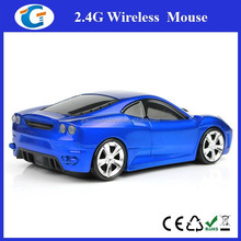 2.4Ghz Computer Wireless Mouse Corporate Gift Car Mouse For Advertisement