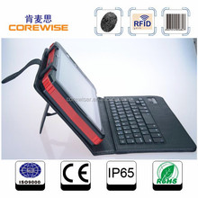 quad core smart phone with wifi, 3g, gps,gprs,bluetooth, fingerprint sensor, barcode reader, android rfid tablet