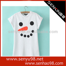 100 Cotton Cheap Custom Promotional Lady Tshirt 2014 new popular
