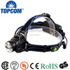 Best T6 rechargeable zoom miner cree headlamp