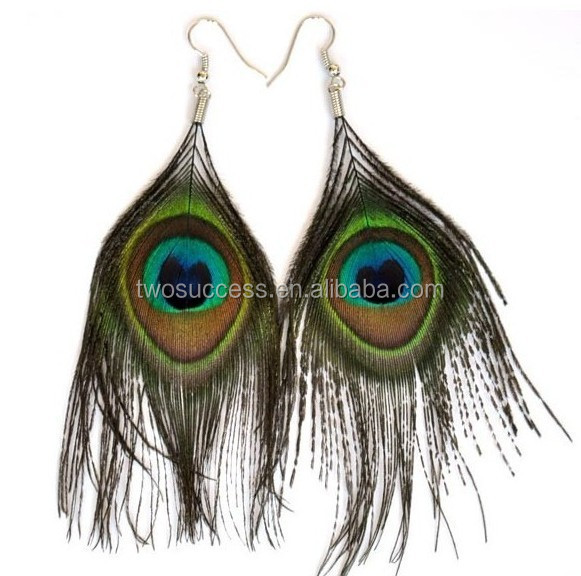 peacock feather earrings (8)
