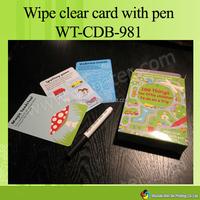 WT-CDB-982 professional children card games printing