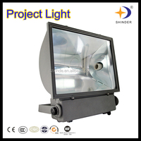 Die-casting aluminum MH/HPS floodlight ip65 250w