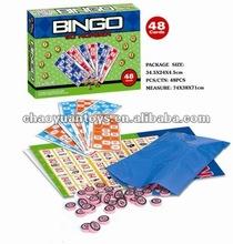 Educación juego de los cabritos 48 cartones de bingo juego set 90 número CS35328011B