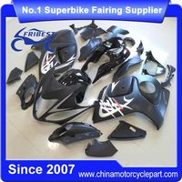 FFKSU013 China Fairings Motorcycle For GSXR1300 For Hayabusa 2008-2014 Matt Black With Red