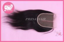 New style most popular straight chinese hair weave ponytail
