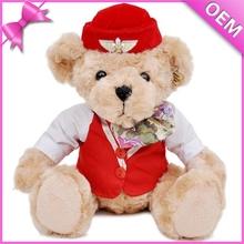 Presente relativo à promoção teddy bear lembrança fabricantes de urso de pelúcia barato
