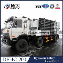 truck type water well used reverse circulation drilling rig