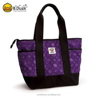 Wholesale fashion brand zipper bag for girls