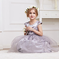 For 2015 fashion baby kids clothes set 3 year old girl dress