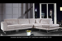 Baotian Furniture Fabric Sofa Sectional with stainless steel legs