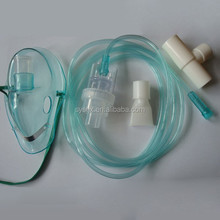 Oxygen therapy gas portable oxygen mask
