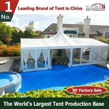 10x20 metal frame outdoor canopy with walls