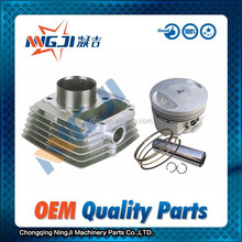Qianjiang CG125 Modify Motorcycle Cylinder kit 56.5mm diameter High Quality Motorcycle Part Engine Parts Piston Cylinder head