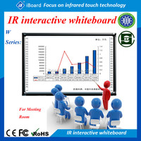 Ir multi-touch China price interactive electronic whiteboard cheap smart board for sale