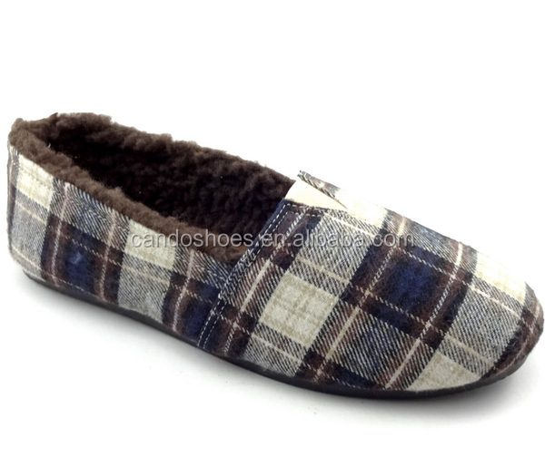 plaid PVC injection man shoes alibaba china