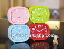 Analog table alarm clock