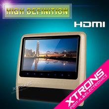 "China cheap 9"" HD Digital Screen Leather Facade Touch Button jeep grand cherokee headrest dvd player"