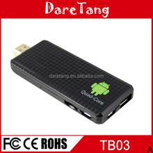 2015 New products arrival smart mini pc Quad Core RK3188-A9 1.8Ghz 2GB 8GB mk809 iii android mini pc