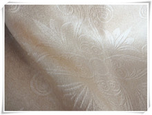 2015 luxury hotel selling fashion embossed curtain fabric cation News shade curtain