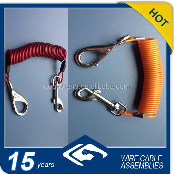Spirale Sicherheit draht/spiralkabel Angeln-andere ...