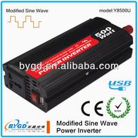 500W DC-AC 24v 220v solar energy inverter supplier,power inverter price