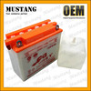 Dry Charged Lead Acid Battery for Motorcycle Battery 12N7B-3A or 12V 3A Motorcycle Battery