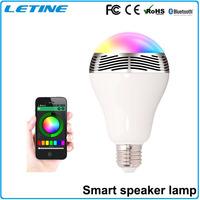 Blue Smart Lighting Bluetooth 4.0 Wireless Remote Control Samrt home LED Light White iOS Android Bulb Lights