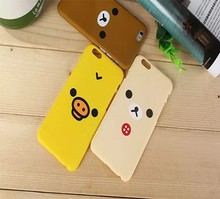 Lovely Relaxing Bear PC Mobile Phone Case For iphone 6 6plus