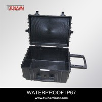 sturdy equipment case No.584433 IP67 waterproof hard plastic camera case waterproof