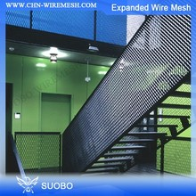 Expanded Aluminum Metal Mesh Stretched Aluminum Expanded Metal Mesh Galvanized Expanded Hexagonal Metal Mesh