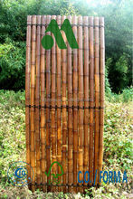 Bamboo Garden Panels Carbonised Chocolate Colour/carbonised panel/bamboo panels for garden