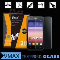 Low price China mobile phone accessories 9H tempered glass screen protector for Huawei Y538