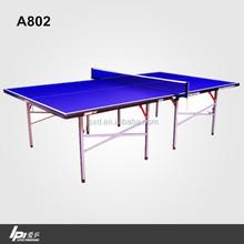 Household Medium Density Fiberboard Table Tennis Table