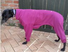Large Dog Overalls Spring Dog Clothes / Snug Hounds Polar Fleece Greyhound Pajamas (PJs),Dog Onesie