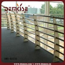 new design outdoor inox fence for deck for house