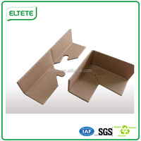 Stand packaged paper boards for corner protection