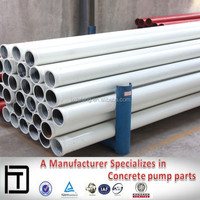 Delivey Pipe Line DN125*4.5*3000mm concrete pumping steel pipe