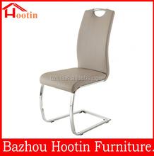 popular design hot sale cheap high back modern leather dinner chair