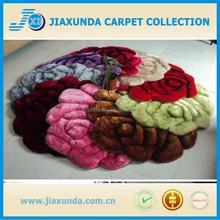 Elegant new pattern flower design high quality cheap area rug